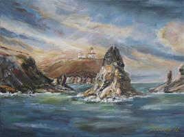 Colombretes Island III by raysheaf