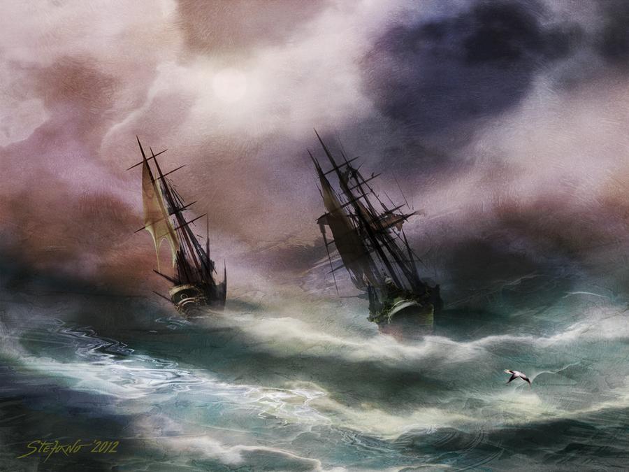 Open Sea - Dangerous Drift by raysheaf