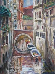 Venice - Canal II by raysheaf