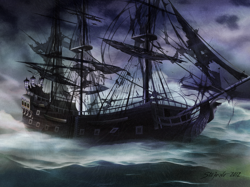 Black Pearl - Troubles Again by raysheaf