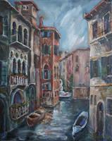 Venice at dusk by raysheaf