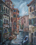 Venice at dusk