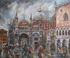 San Marco - Rainy Afternoon by raysheaf