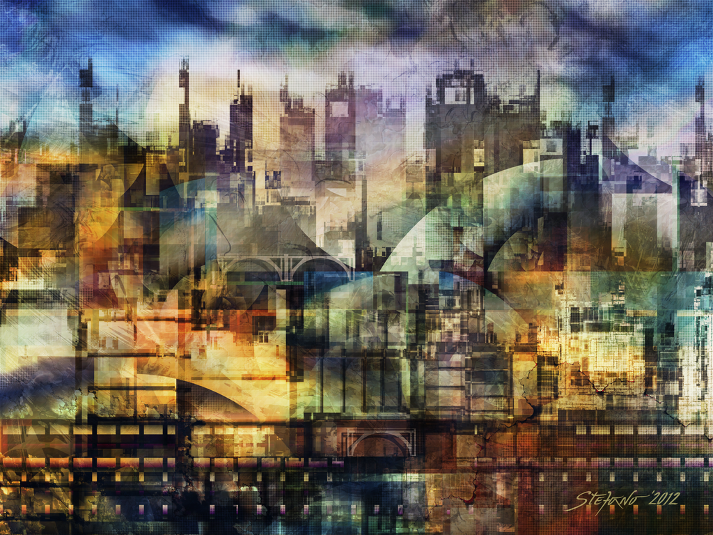 Layered Dreams by raysheaf