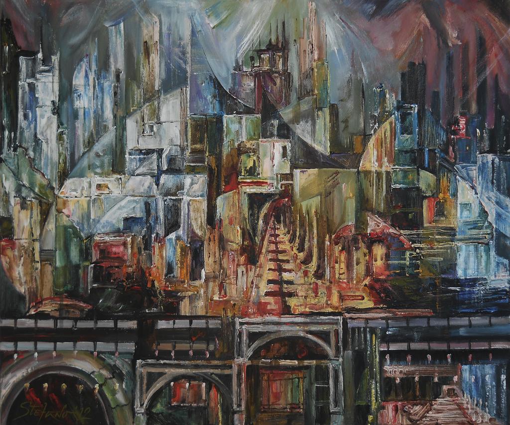 City of Dreamers II by raysheaf
