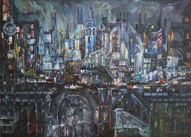 City Lights by raysheaf