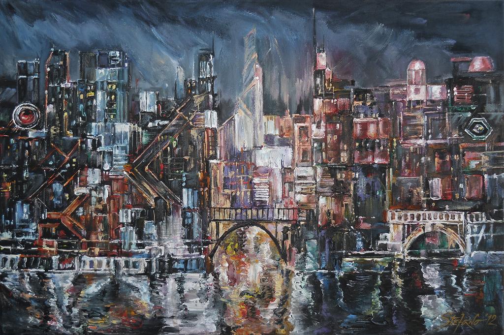 City Lights II by raysheaf