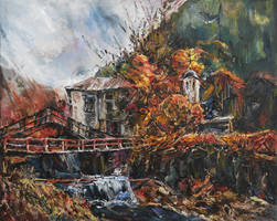 Autumn in Shiroka Luka by raysheaf