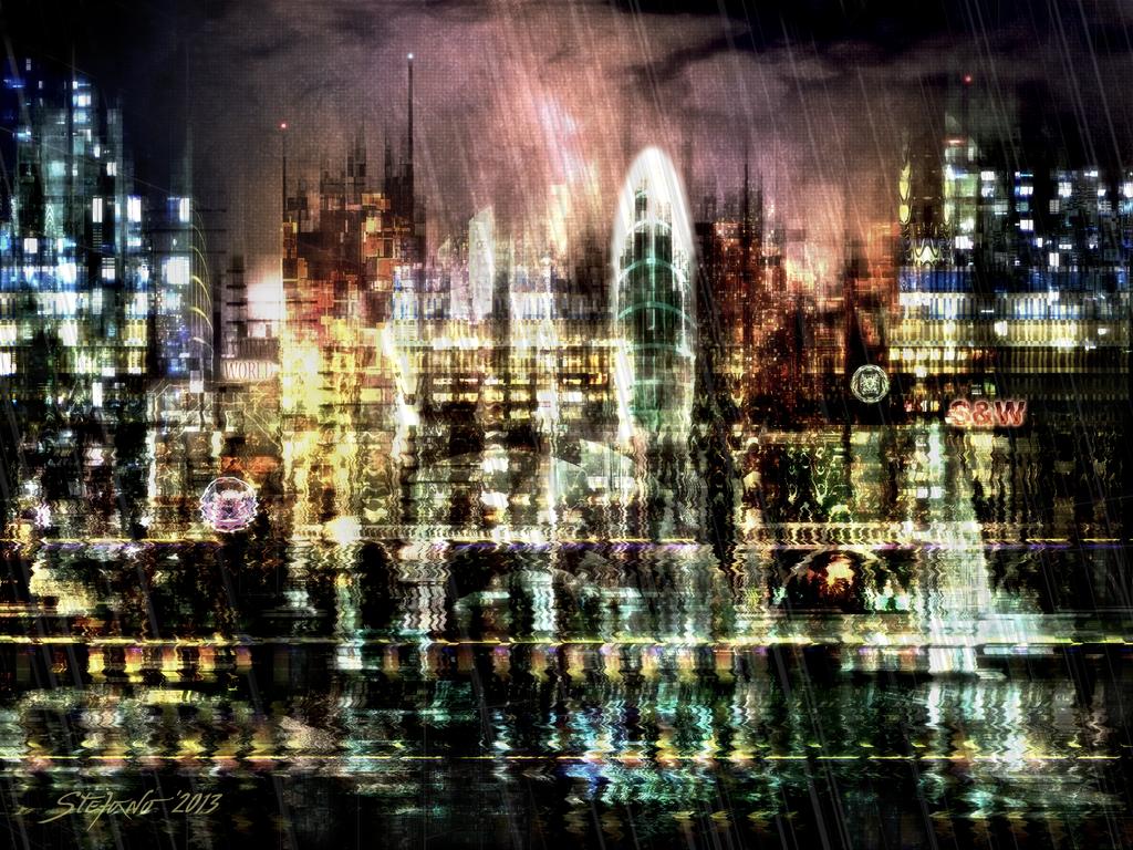 Night-Scape II by raysheaf