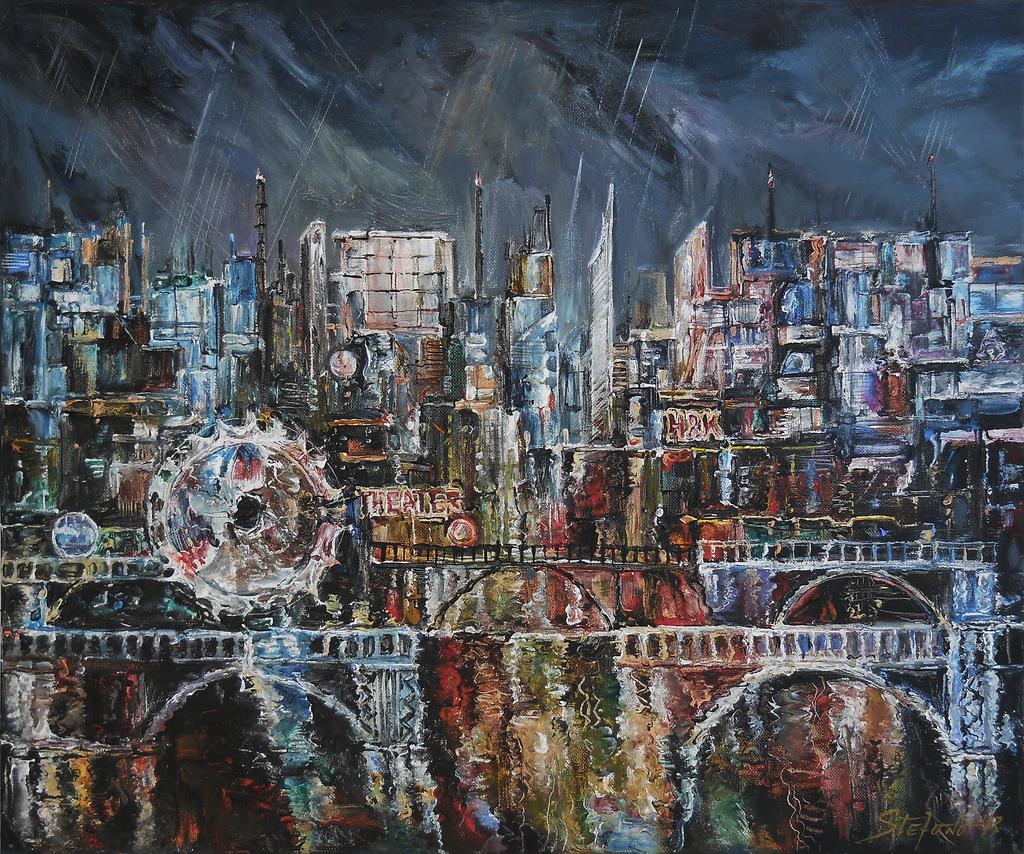 City Lights III by raysheaf