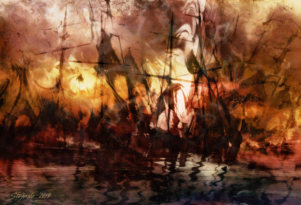 The Lost Armada by raysheaf