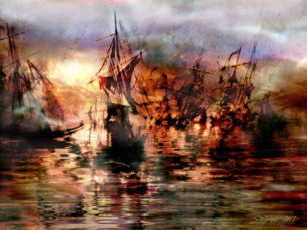 The Lost Armada II by raysheaf