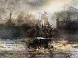 Glory and Fall by raysheaf