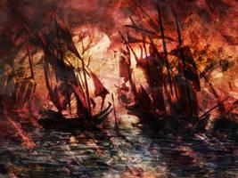 The Lost Armada IV by raysheaf