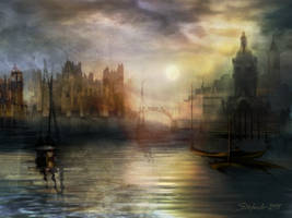 The Somnolent City by raysheaf