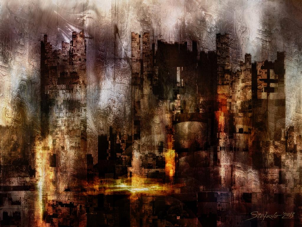 Ghost City II by raysheaf