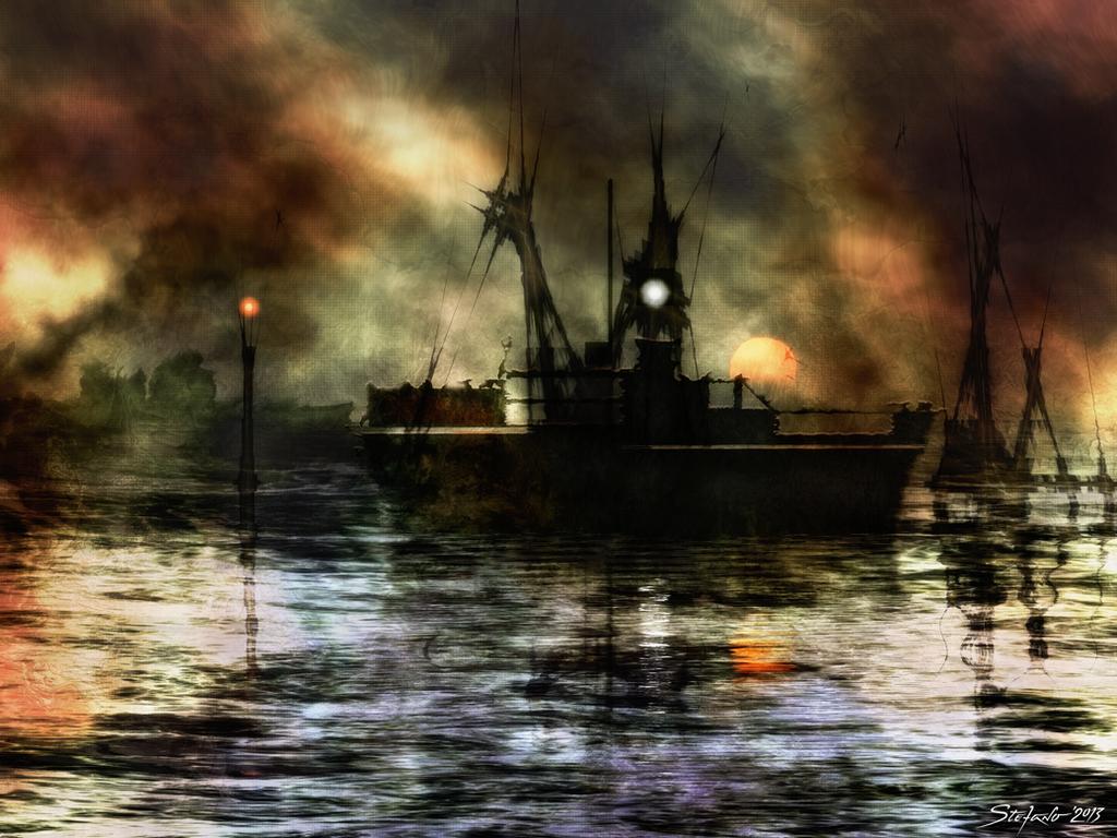 Impression - Sunset by raysheaf