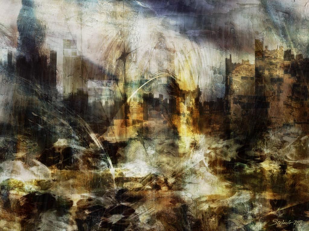 Junk City by raysheaf