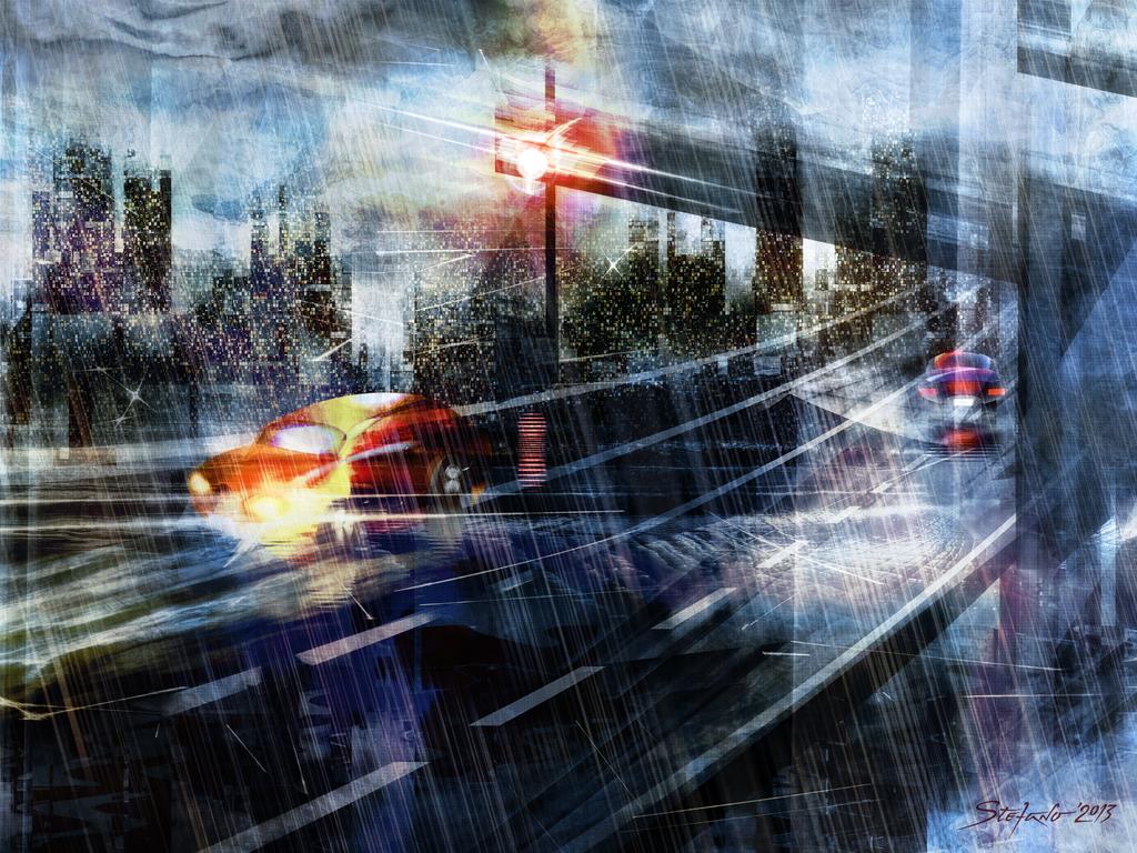 Highway by raysheaf