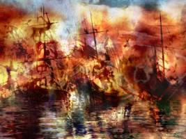 The Lost Armada V by raysheaf