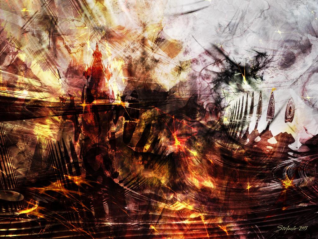 Dragon Realms III by raysheaf
