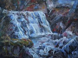 Waterfall by raysheaf