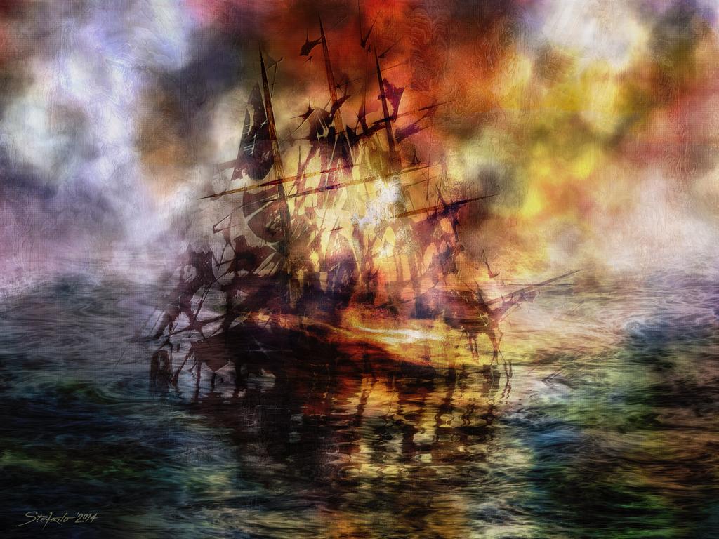 Sea Drama by raysheaf