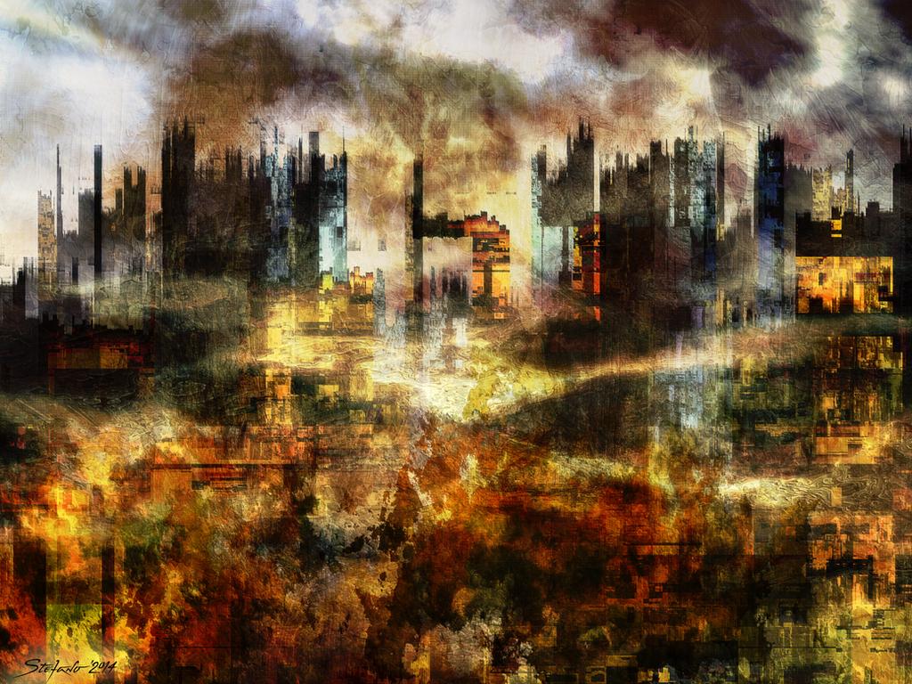 Smog II by raysheaf