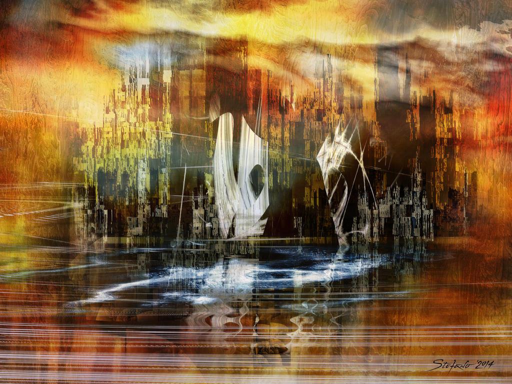 Memories of Atlantis by raysheaf