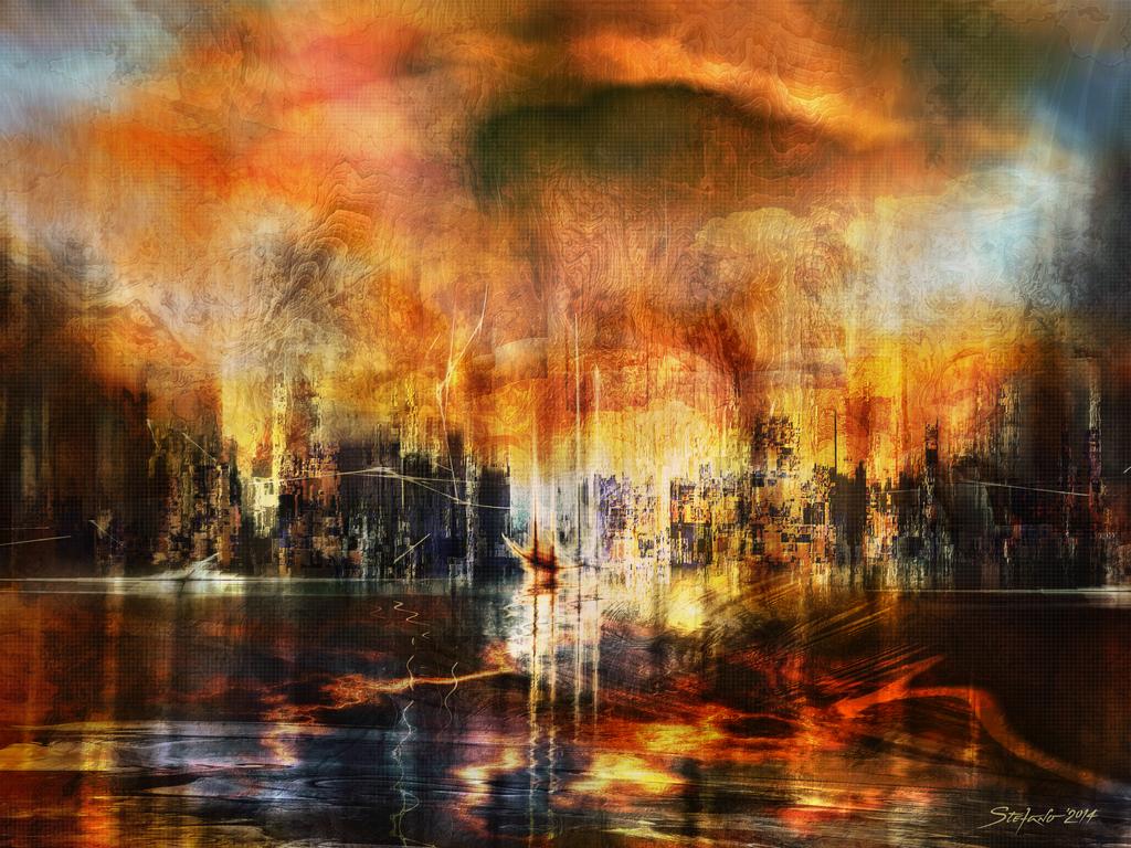 Memories of Atlantis II by raysheaf