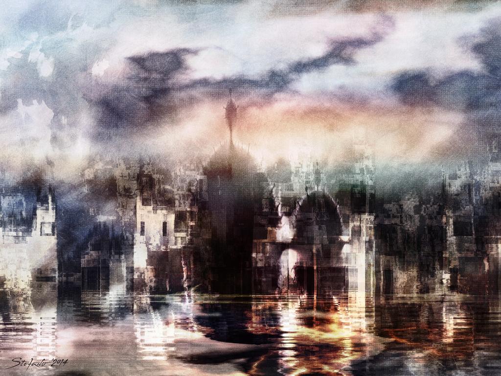 Somnolent City V by raysheaf