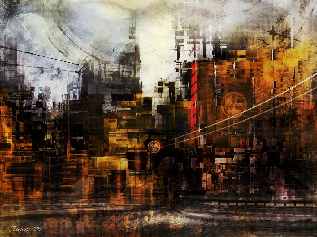 Ghost City V by raysheaf