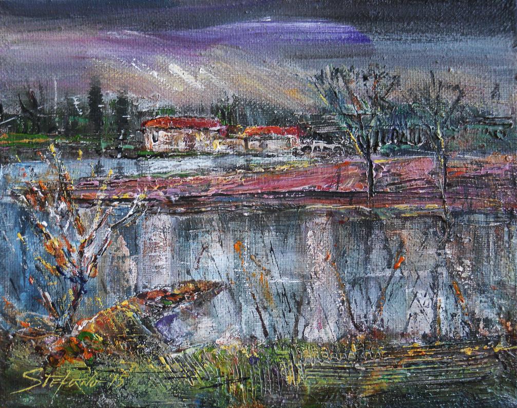 Along the river III by raysheaf