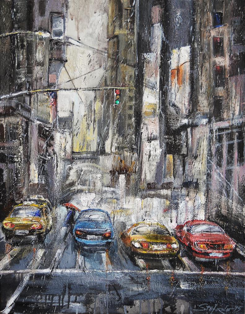 The City Rhythm by raysheaf