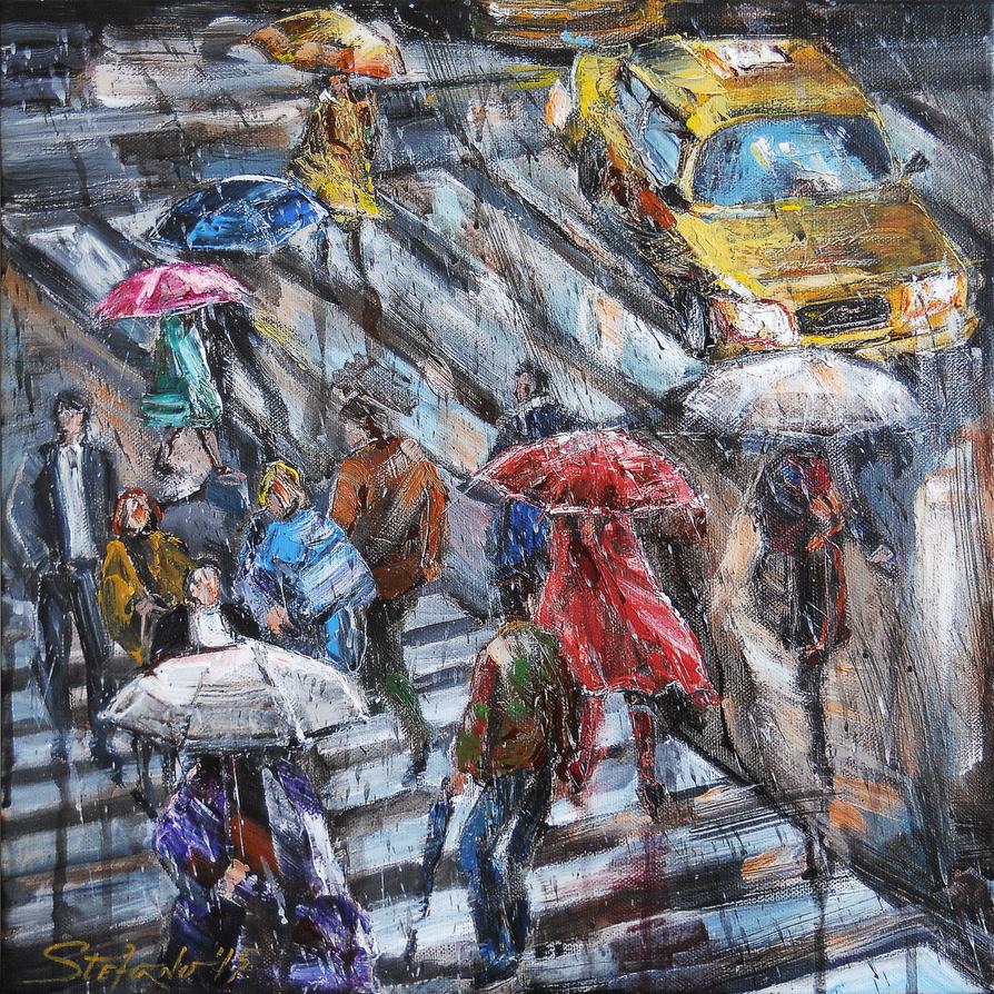 Sudden Rain II by raysheaf