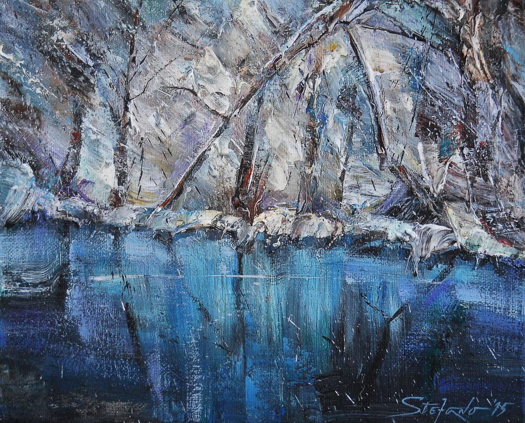 Winter Light II by raysheaf