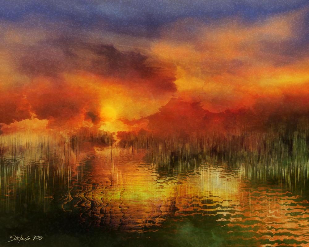 Sleeping Nature II by raysheaf