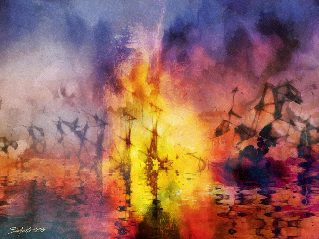 Lost Armada VI by raysheaf