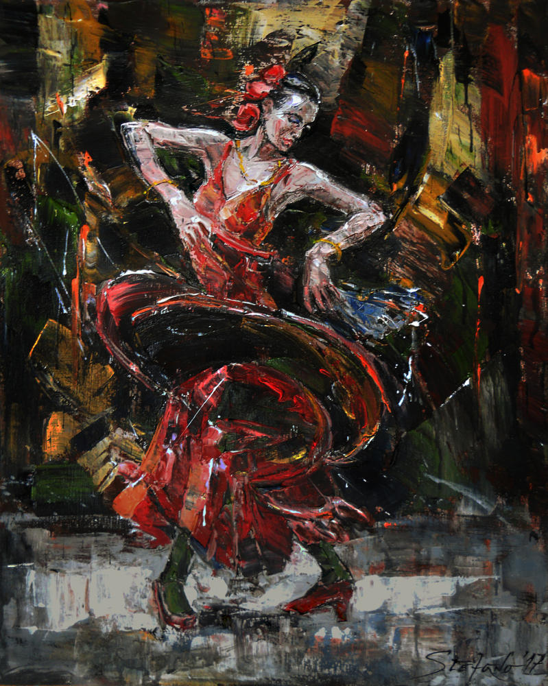 Flamenco II by raysheaf