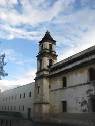 Church tower by Dark-Saber