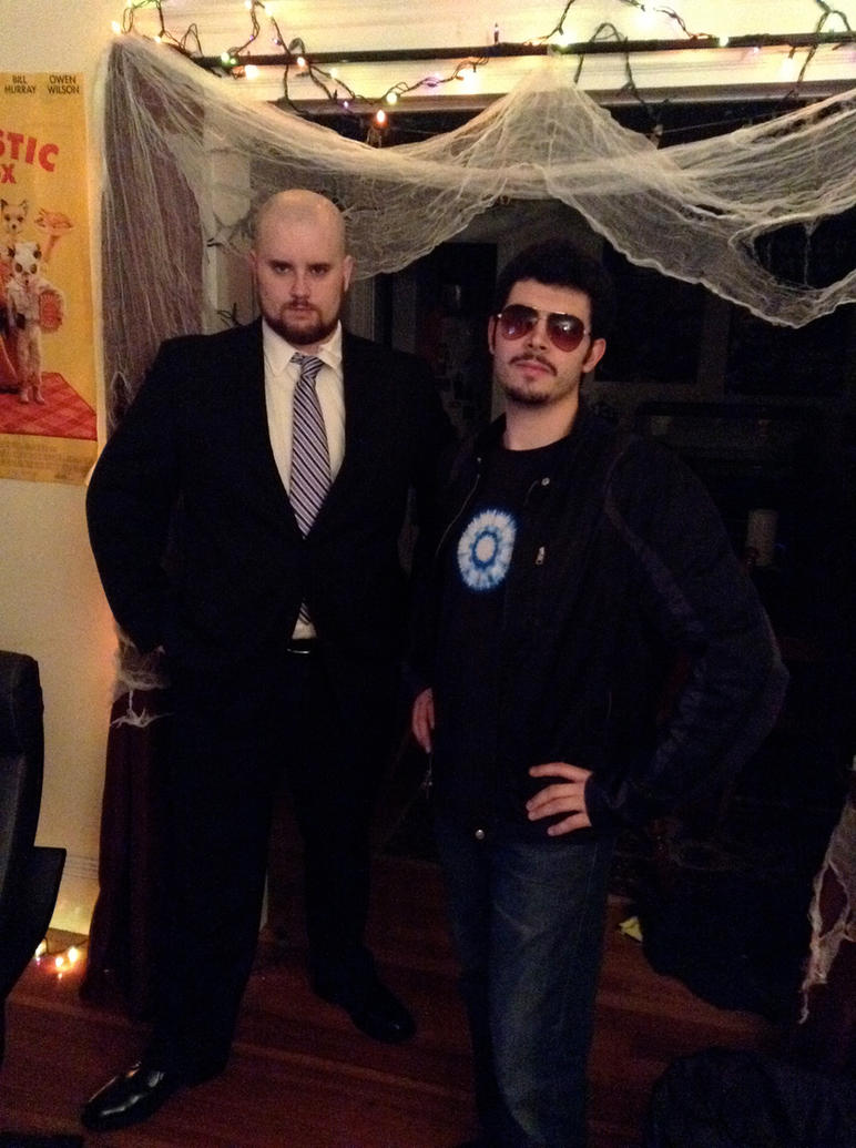 tony stark and obadiah stane halloween costumes by muffla