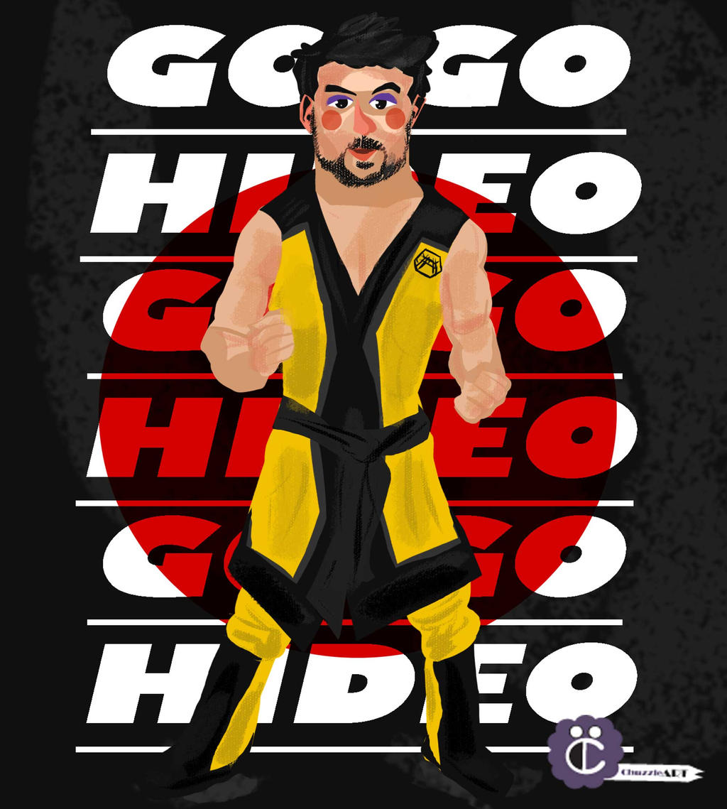 hideo itami by thechuzzle on deviantart