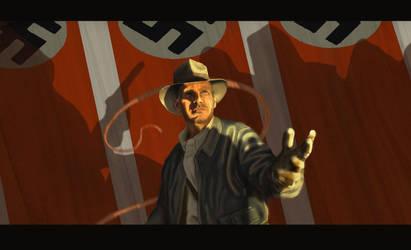 Indiana Jones by digidennn