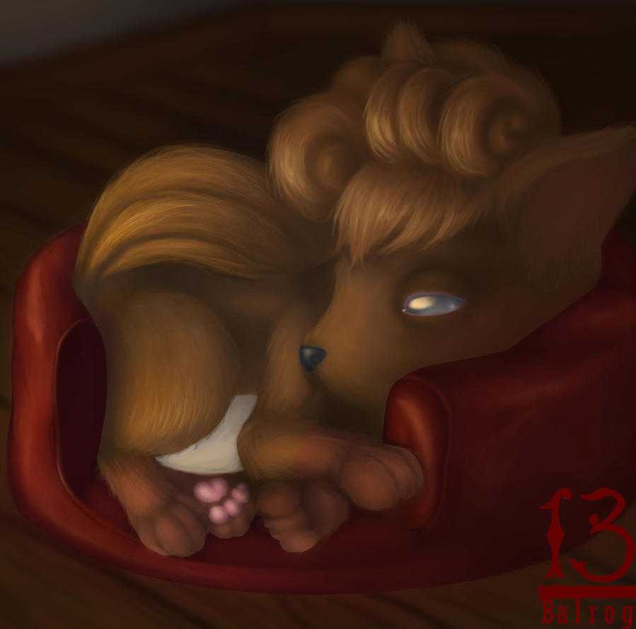 Vulpix by 13alrog