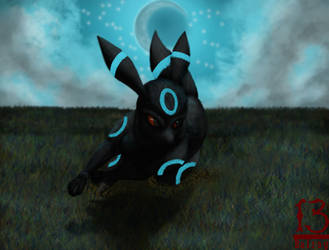 Umbreon by 13alrog
