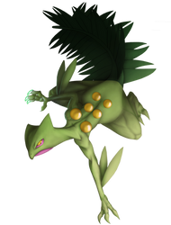 Sceptile by 13alrog