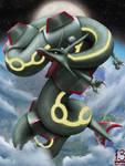Sky Dragon by 13alrog