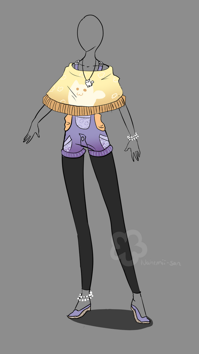 Kitty-Outfit Adopt - sold by Nahemii-san on DeviantArt