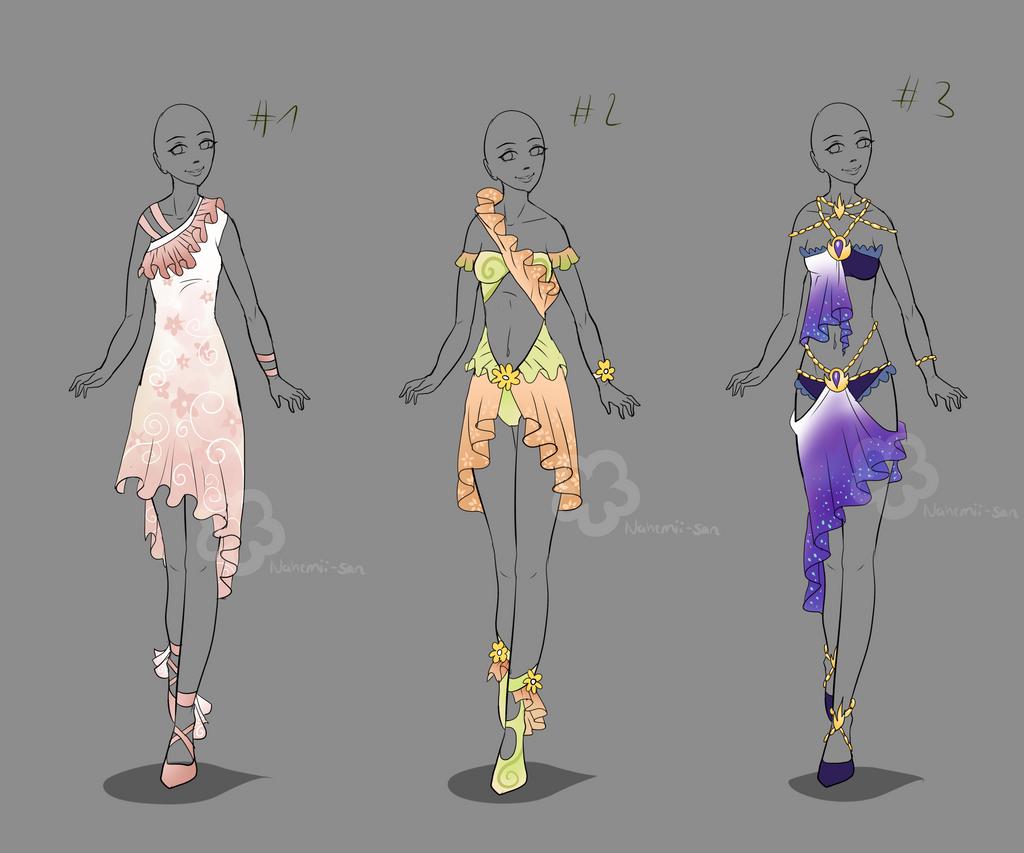 Dress Designs - sold by Nahemii-san