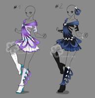 Dress Design Auctions - closed by Nahemii-san